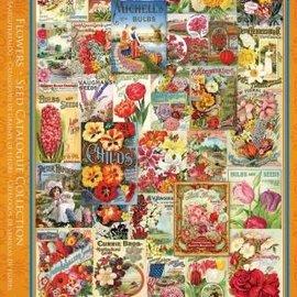 Eurographics Eurographics puzzel Flower Seed Catalog Covers (1000 stukjes)