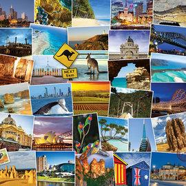 Eurographics Eurographics puzzel Australia - Globetrotter (1000 stukjes)