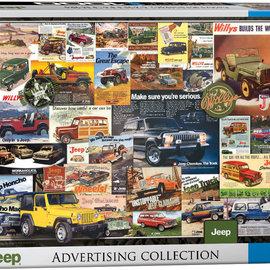 Eurographics Eurographics puzzel Jeep Advertising Collection (1000 stukjes)