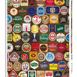 Piatnik Piatnik puzzel Beer Coasters (1000 stukjes)