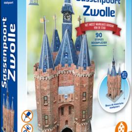 House of Holland House of Holland puzzel 3D Gebouw - Sassenpoort Zwolle (90 stuks)