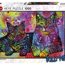 Heye Heye puzzel 2 Cats (1000 stukjes)