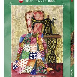 Heye Heye puzzel Quilt Lovely times (1000 stukjes)