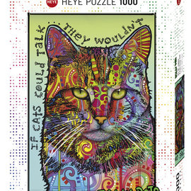 Heye puzzel Pets If Cats Could Talk (1000 stukjes)