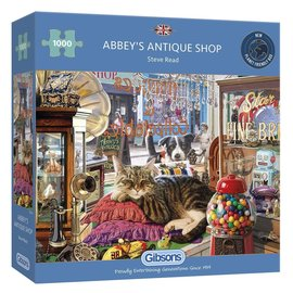 Gibsons Gibsons puzzel Abbey's Antique Shop (1000 stukjes)