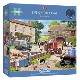 Gibsons Gibsons puzzel Life on the Farm (1000 stukjes)