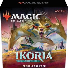 Magic The Gathering Magic The Gathering - Ikoria Lair of Behemoths Pre-Release pack
