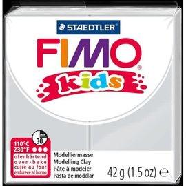 Fimo Fimo kids boetseerklei 42 g - Licht Grijs