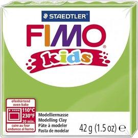 Fimo Fimo kids boetseerklei 42 g - Licht Groen