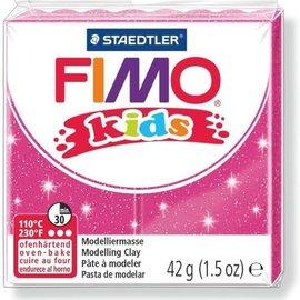 Fimo Fimo kids boetseerklei 42 g - Glitter Fuchsia