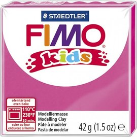 Fimo Fimo kids boetseerklei 42 g - Fuchsia