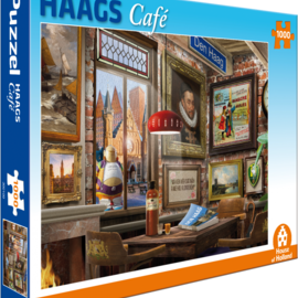 House of Holland House of Holland puzzel Haags Café (1000 stukjes)