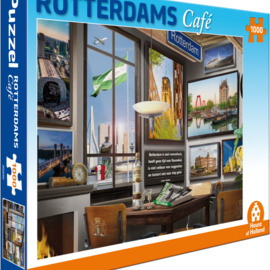 House of Holland House of Holland puzzel Rotterdams Café (1000 stukjes)