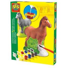 SES SES Gieten en Schilderen : Paard