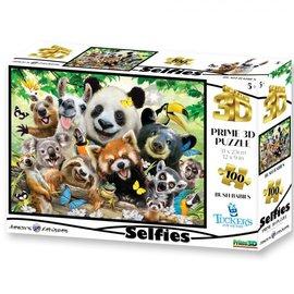 Overige puzzels Selfies Prime 3D puzzel Bush Babies (500 stukjes)