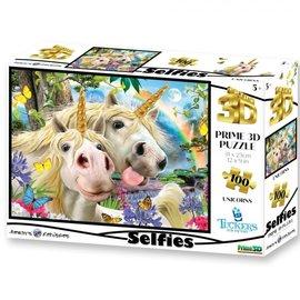 Overige puzzels Selfies Prime 3D puzzel Unicorns (500 stukjes)