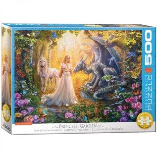 Eurographics Eurographics puzzel Princess' Garden (500 XL stukjes)