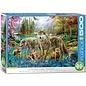 Eurographics Eurographics puzzel Wolf Lake Fantasy (500 XL stukjes)
