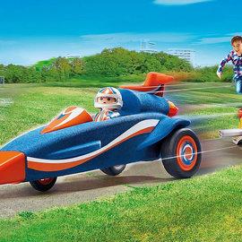Playmobil Playmobil - Autoraket met piloot (9375)