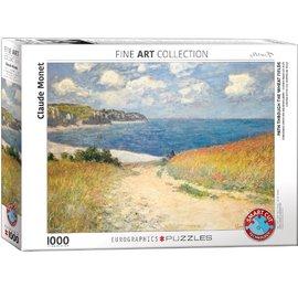 Eurographics Eurographics puzzel Path Trough the Weat Fields - Claude Monet (1000 stukjes)