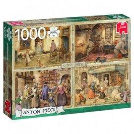 Jumbo Jumbo puzzel Anton Pieck - Bakkers uit 1900 (1000 stukjes)