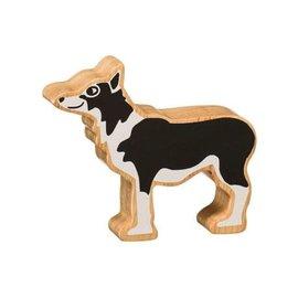 Lanka Kade Lanka Kade Houten Hond zwart wit