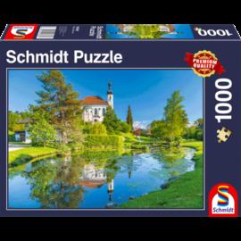 Schmidt Schmidt puzzel Breitburnn, Chiemgau (1000 stukjes)