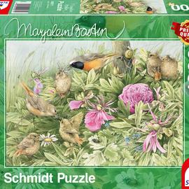 Schmidt Schmidt puzzel Marjolein Bastin - Feest in de weide (1000 stukjes)