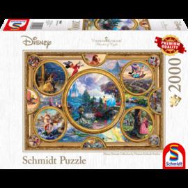 Schmidt Schmidt puzzel Disney Dreams Collection (2000 stukjes)