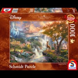 Schmidt Schmidt puzzel Disney Bambi (1000 stukjes)