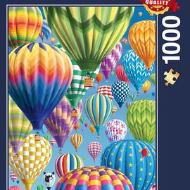 Schmidt Schmidt puzzel Bonte Ballonnen in de lucht (1000 stukjes)