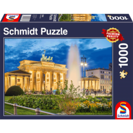 Schmidt Schmidt puzzel Brandenburger Tor, Berlijn (1000 stukjes)