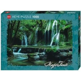 Heye Heye puzzel Cascades, Magic Forest (1000 stukjes)