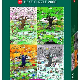 Heye Heye puzzel Four Seasons (2000 stukjes)