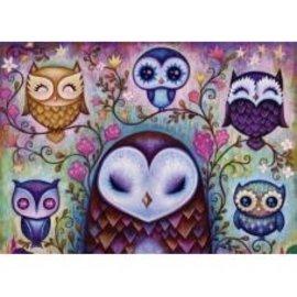 Heye Heye puzzel Great Big Owl (1000 stukjes)
