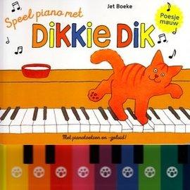Gottmer Speel piano met DIkkie Dik (met pianotoetsen- en geluid )