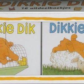 Gottmer Dikkie Dik doos 16 uitdeelboekjes