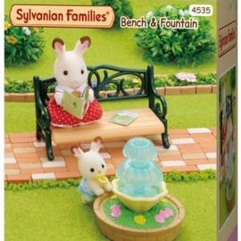 Sylvanian families Sylvanian Families - Bank en Fontein