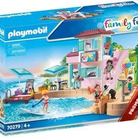 Playmobil Playmobil - IJssalon aan de haven (70279)