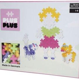 Plus-Plus Midi Pastel Plus-Plus Meisje en Huisdieren: 150 stuks