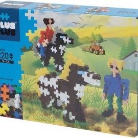 Plus-Plus Mini Basic Plus-Plus Paarden en Ruiters: 220 stuks