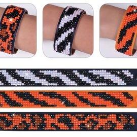 Diamond Dotz Diamond Dotz Armbanden set Dierenprints