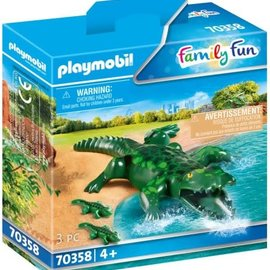 Playmobil Playmobil - Alligator met baby (70358)