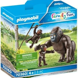 Playmobil Playmobil - Gorilla met babies (70360)