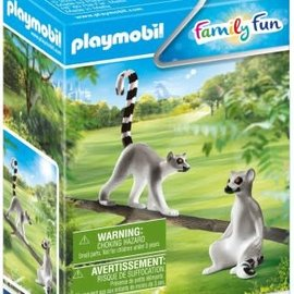 Playmobil Playmobil - Koppel ringstaartmaki's (70355)