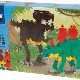 Plus-Plus Mini Basic Plus-Plus Dino's: 480 stuks