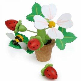 Tender Leaf Tender Leaf - Bloempot met aardbeien