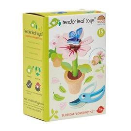 Tender Leaf Tender Leaf - Set bloempot met bloem en vlinder