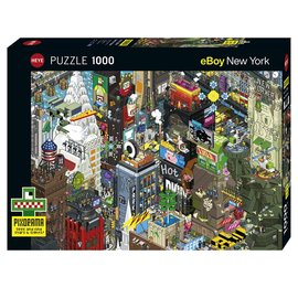 Heye Heye puzzel New York Quest (1000 stukjes)