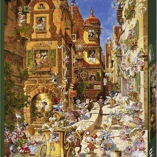 Heye Heye puzzel Romantic Town Day (1000 stukjes)